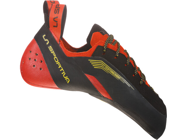 La Sportiva Testarossa Kiipeilykengät Miehet, red/black